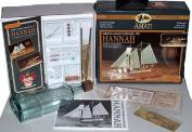 Ship in a Bottle Wood Model Kit Hannah