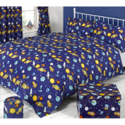 Mucky Fingers Childrens Spaceman Duvet Cover Bedding Set (Double)
