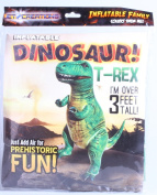 90cm H Inflatable T-Rex ,Inflatable Dinosaurs Toys,Large Inflatable Dinosaurs Animals Toys for indoor and Outdoor Play