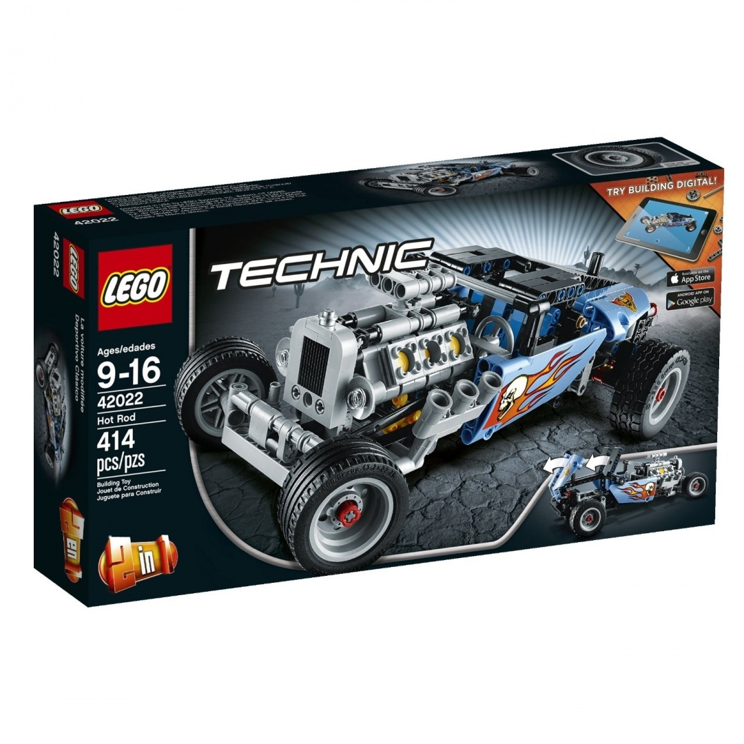 Lego Technic 42022 Hot Rod Model Kit By Lego Shop Online For Toys