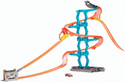 Hot Wheels Track Builder Spiral Stack-Up Track Set
