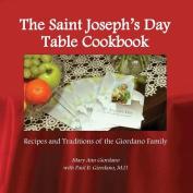 The Saint Joseph's Day Table Cookbook
