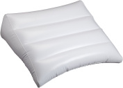 Beautyko USA Inclined Inflatable Travel Pillow, White