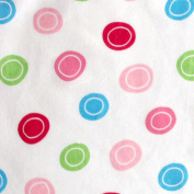 Luvable Friends Fitted Pack n Play Sheet, Pink Geometric Print