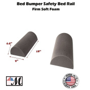 """2 Pack Bed Bumper - Bed Rail for Toddlers Bedding Bumper Pad Safety Guard Rail (9""""x 4.5) 1 set"""