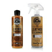 Chemical Guys Leather Cleaner and Conditioner Complete Leather Care Kit (470ml)