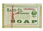 Barr-Co Fir and Grapefruit Moisturising Bar Soap 180ml