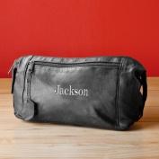 Personalised Leather Travel Kit