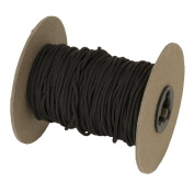 October Mountain Products Coloured Release Loop Rope Roll, 80m, Black