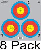 Archery 5 SPOT & 3 SPOT Vegas Targets by Longbow 8, 20, 50 & 200 Packs