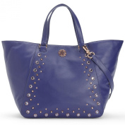 Juicy Couture Hollywood Leather Tote Bag, Cobalt Blue