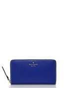 Kate Spade New York Neda Zip Around Leather Wallet Something Blue
