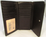 Osgoode Marley Black Cashmere Leather RFID Womens Card Case Wallet