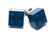 Lego Dark Blue Brick Cufflinks Cuff Links Funky Cool