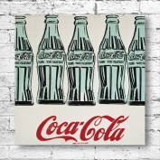 Andy Warhol Coca Cola Bottles Large Canvas Art Print. Classic Soda Bottle Pop Art