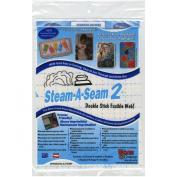 Steam-A-Seam 2 Double Stick Fusible Web-23cm x 30cm Sheets 5/Pkg