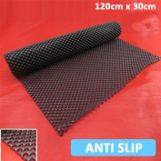 Brand New HIGHLY DURABLE NON SLIP MAT Ideal to Use for Variety of Jobs Car Dashboard Drawer Liner Black Bath Anti Spill Mobile Cell Holder Shower Floor Gripper Large Wide Tool Box Roll Rug Carpet Home Bathroom Kitchen Office