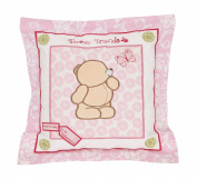 Pink 'BeautifulSquare ' Cushion - by Forever Friends
