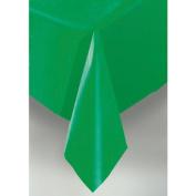 Unique Emerald Green Plastic Table Cover