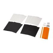 IKEA SUMMERA - Drop file, patterned / 16 pack