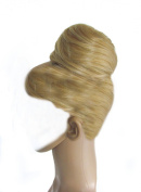 Womens Luxury Extra Big Drawstring Clip On Messy Bun Hairpiece Hair Extension - Jenny (#24BH613) Blonde