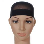 Allsorts® Pack of 2 Black Wig Caps Hair Cap