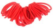 Allsorts® 36 Red Endless Elastics Hair Bobbles Elastic Bands Hair Accessory