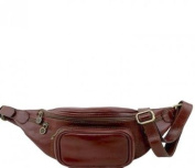 Tuscany Leather Leather Fanny Pack Brown