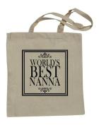 Natural cotton shopping bag with fun Slogan