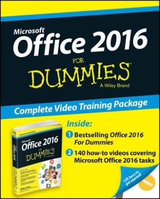 Office 2016 for Dummies, Book + Online Videos Bundle