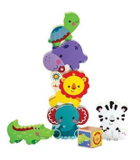 My First Animal Tower - Blocks by Fisher Price