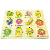 Malloom® Fruit Recognition Puzzle Educational Developmental Baby Kids Toy