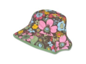 Baby Girls Floral Reversible Sun Hat