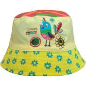 Baby Girls Birdie & Turtle Bucket Style Summer Sun Beach Hat