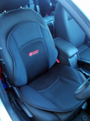 Posture Cushion - Seat Softener Comfort Cushion With Soft Foam Insert. Great For Modern Harder Car Seats. Prevents The Pain And Stiffness In Your Legs And Back When Sitting In The Car Home And Office. Available With Black Breathable Cover And Anti Slip ..