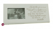 Baby Scan Photo Frame Plaque Gift With Sentimental Verse