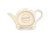 T & G Pride Of Place Tea Bag Coaster Tidy Holder Old Cream 18029