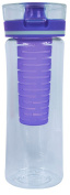 Cool Gear Ripple Infuser Bottle, Purple