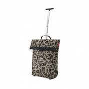 Reisenthel Trolley M, Shopping Bag, Shopping Basket on Castors, baroque taupe, NT7027 baroque sand