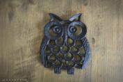 Cast Iron Owl Shaped Worktop Trivet