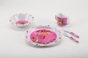 JD Diffusion Piou Piou T3341 Child's Melamine Dinner Set