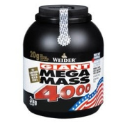 Weider Nutrition Mega Mass 4000 Chocolate 3000G