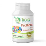 Probiotic Max 30 Capsules - High Strength 8 Strain Supplement with a Guaranteed 20 BILLION Viable (living) Probiotic Organisms per Capsule - UK Manufactured to GMP Guaranteed Quality