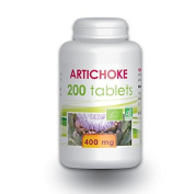 Artichoke 200 organic tablets 400 mg