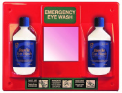 Orange Eye Wash Station