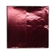 500 7.6cm X 7.6cm Burgundy Confectionery Foil Wrappers Candy Wrappers Candy Making Supplies