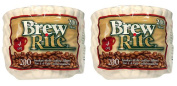 Brew Rite 4 Cup Coffee Basket Disposable Filters - 400 Ct