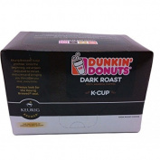 Dunkin Donuts K-cups Dark Roast - 24 Kcups for Use in Keurig Coffee Brewers 150ml
