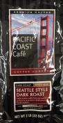 950ml Pacific Coast Cafe Seattle Style Dark Roast, Whole Bean Coffee