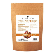 The Republic Of Tea Hibiscus Vanilla Apple Full-Leaf, 0.5kg/200 Cups
